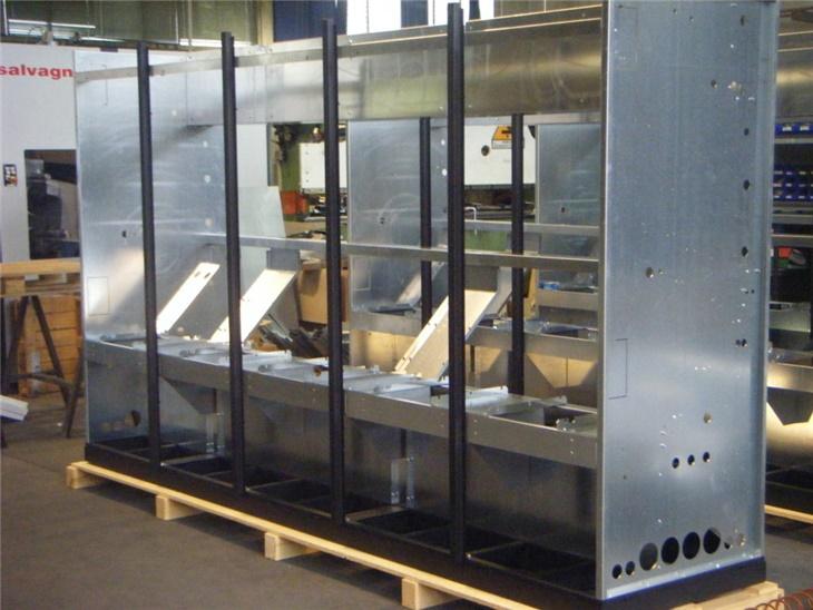 Telaio impianto condizionamento industriale